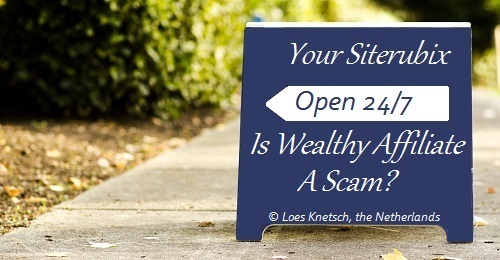 Is Wealthy Affiliate a scam or legit?