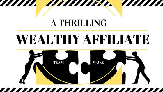 Wealthy Affiliate teamwork