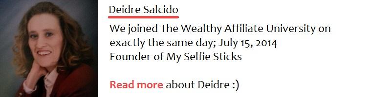 Interview with Deidre