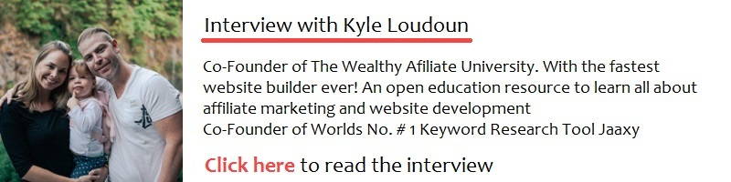 Interview with Kyle Loudoun