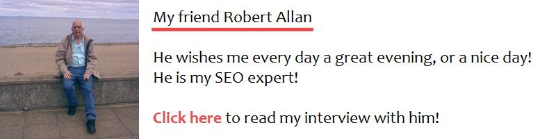 An interview with Robert Allen