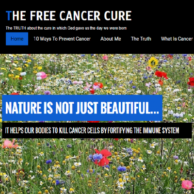 The Free Cancer Cure