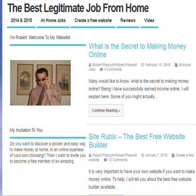 The Best Legitimate Job From Home