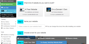 The website builder of Wealthy Affiliate