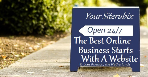 The best business online starts with a website