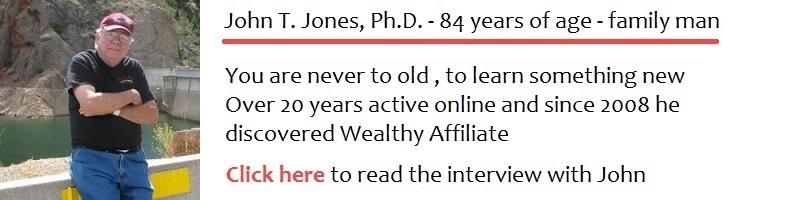 An interview with John T. Jones Ph.D