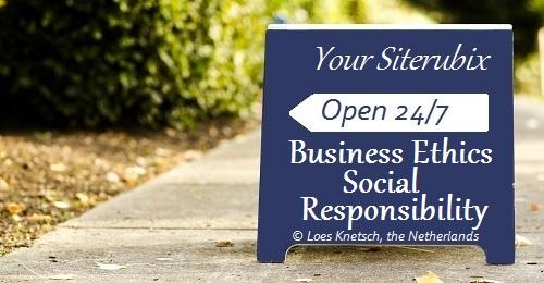 Business Ethics Social Responsibility