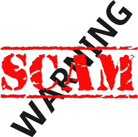 Warning scam