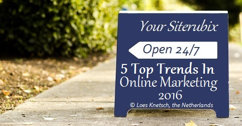 Top trends in online marketing