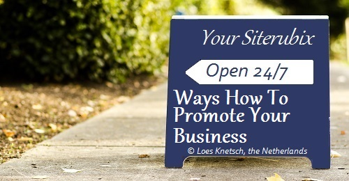 Ways how to promote your business