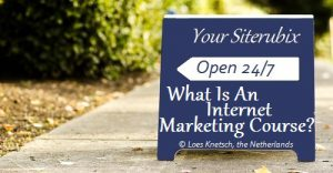 What is an internet marketing course