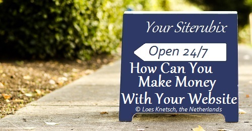 how to make money with a weebly website
