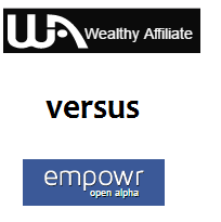 Wealthy Affiliate vs Empowr