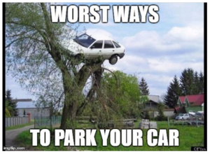 worst way to park your car