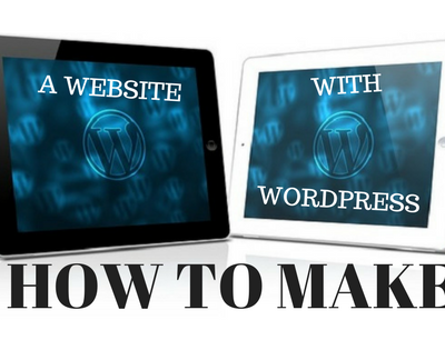 How to make a website with WordPress