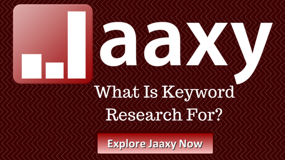 What Is Keyword Research For