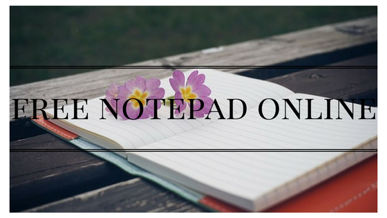 free notepad online