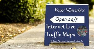 Internet live traffic maps