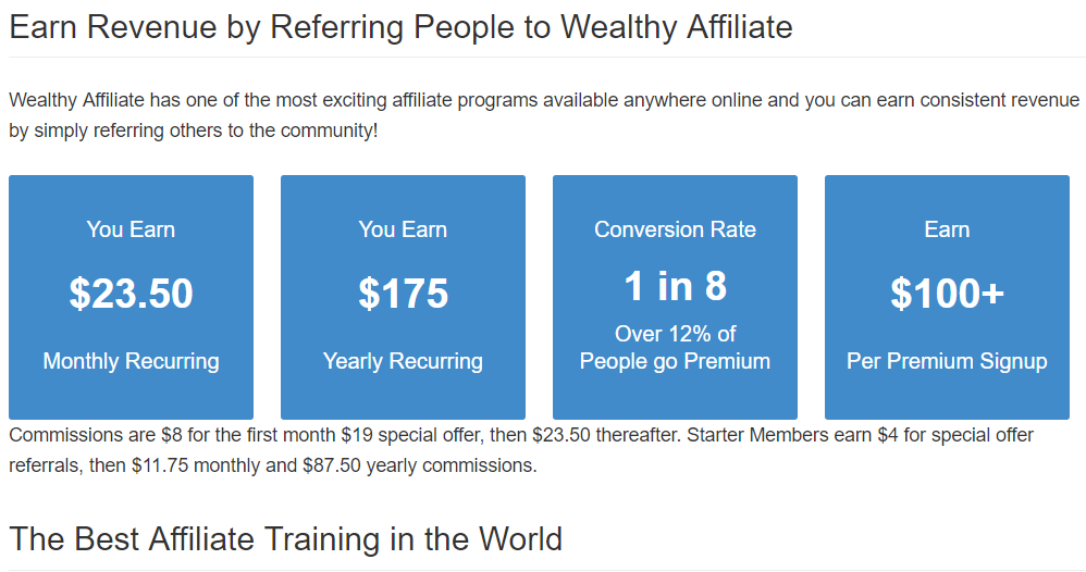 The best affiliate training in the world