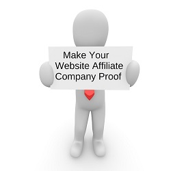 Make Your Website Affiliate Company Proof