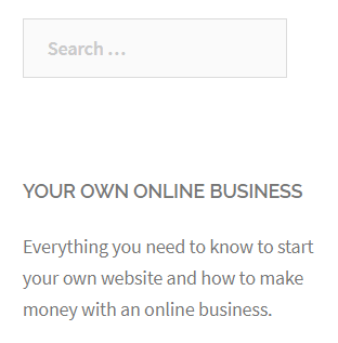 good business website example