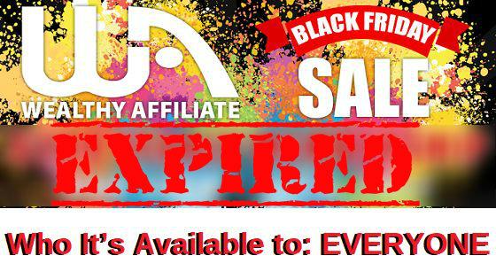 WA black Friday Expired