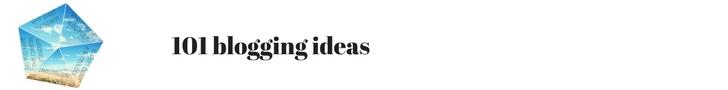 101 blogging ideas